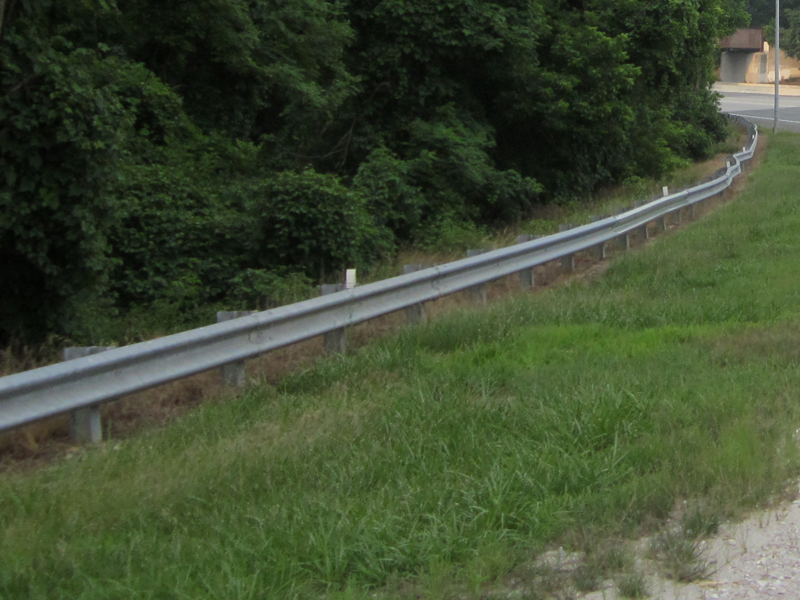 Traffic Barrier with Beam Galvanized Guardrail