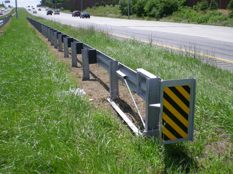 Type C Traffic Barrier End Treatment